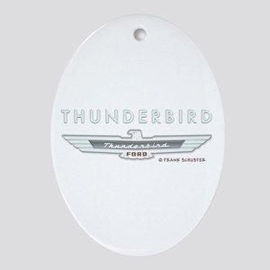 Thunderbird Emblem Ornament (Oval)